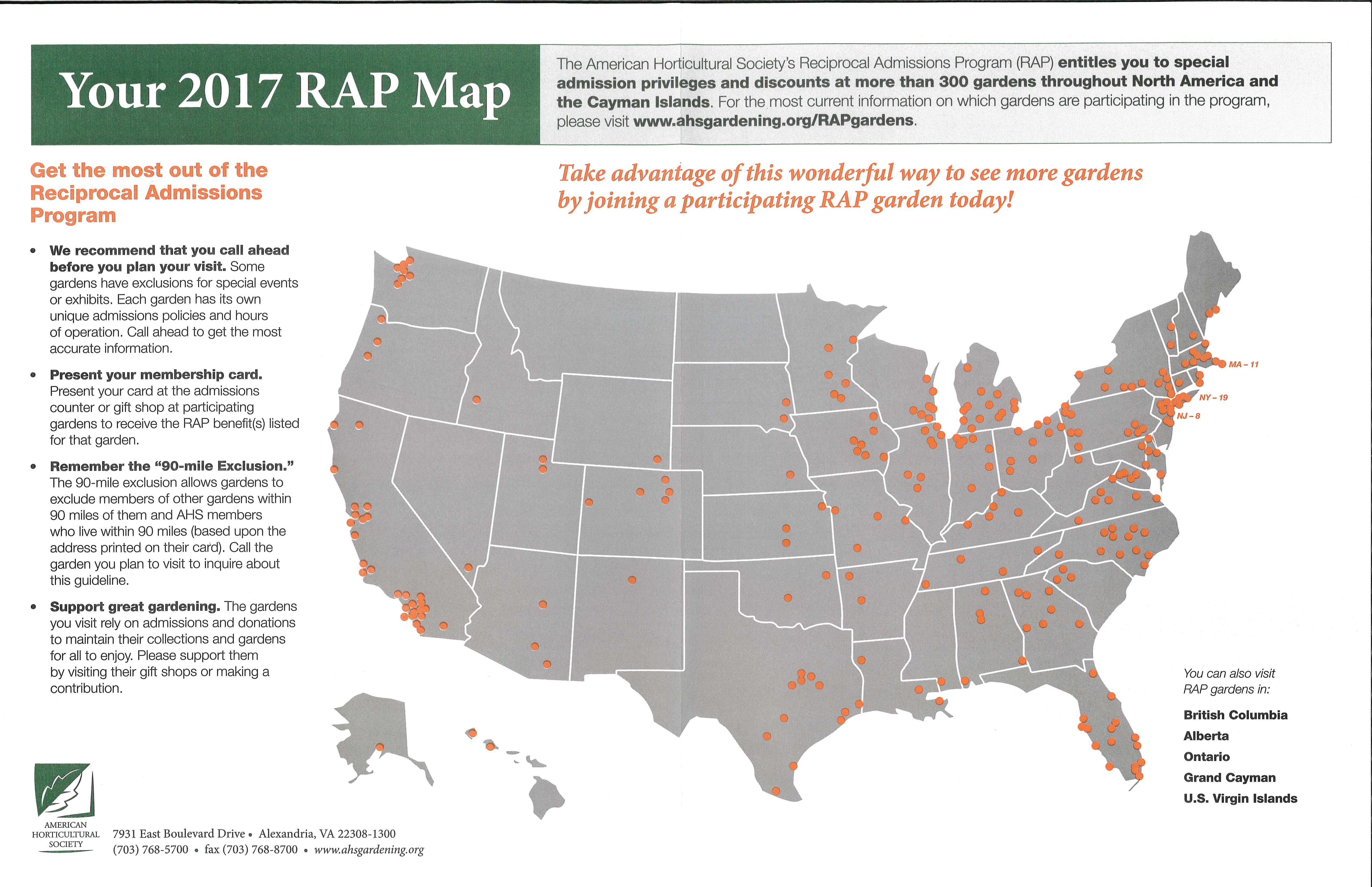 RAP Map