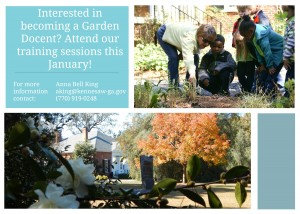 Docent Training Course I @ Smith-Gilbert Gardens | Kennesaw | Georgia | United States