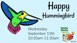 Garden Stories: Happy Hummingbird @ Smith-Gilbert Gardens | Kennesaw | Georgia | United States