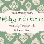 Garden Stories December