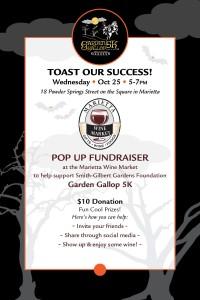 Toast our Success Pop Up Fundraiser @ Marietta Wine Market | Marietta | Georgia | United States