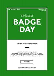 Girl Scout Badge Day @ Smith-Gilbert Gardens | Kennesaw | Georgia | United States