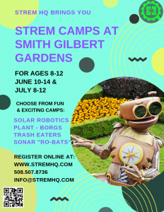 STREM HQ Summer Camp at Smith-Gilbert Gardens @ Smith-Gilbert Gardens