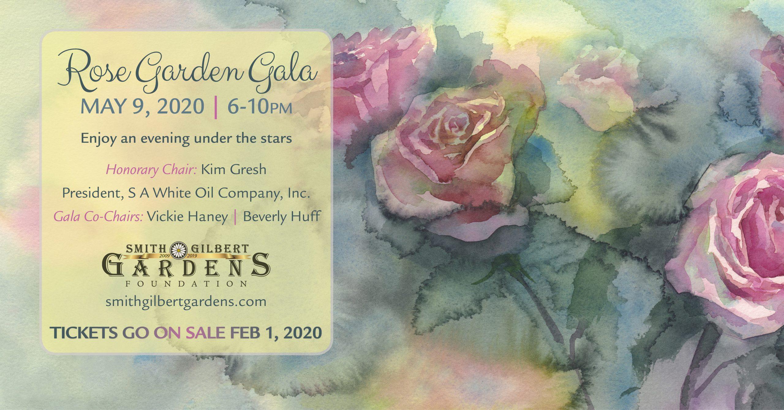 Rose Garden Gala 2020 banner